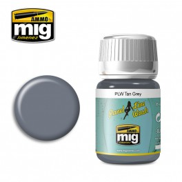 A-MIG PANEL LINE WASH TAN GREY # 1610