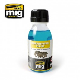 A-MIG METALLIC TRACKS BURNISHING FLUID # 2020