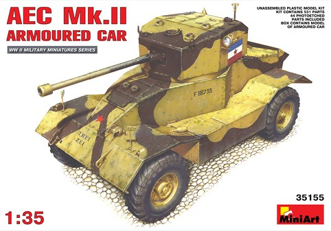 MiniArt 1/35 AEC Mk.II Armoured Car # 35155
