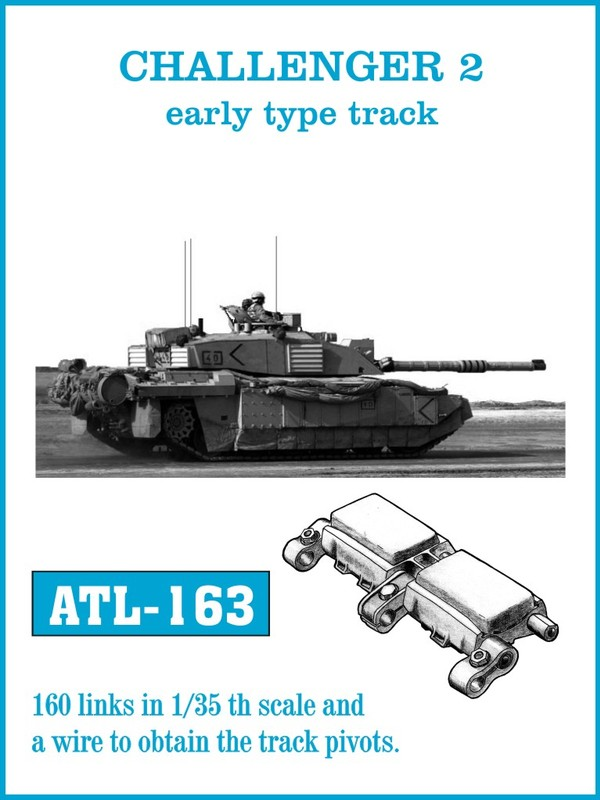 Friulmodel 1/35 Challenger 2 early type # ATL-163