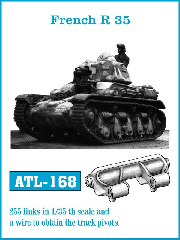 Friulmodel 1/35 French R35 # ATL-168