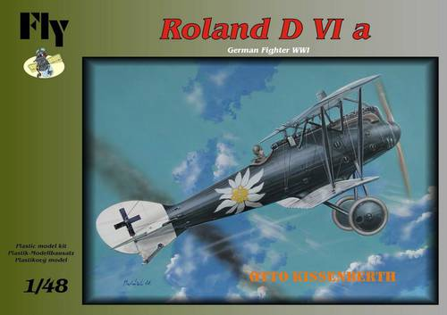 Fly 1/48 LFG Roland D.VIa Otto Kissenberth # 48014