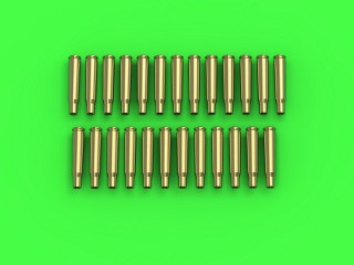 Master Model 1/35 Browning .50 caliber (12.7mm) - empty shells (25pcs) # GM-35-020