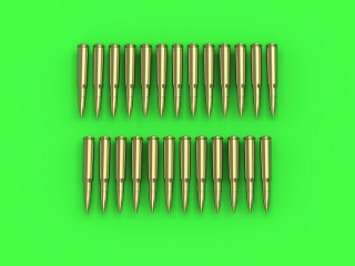 Master Model 1/35 Browning .50 caliber (12.7mm) - cartridges (25pcs) # GM-35-021