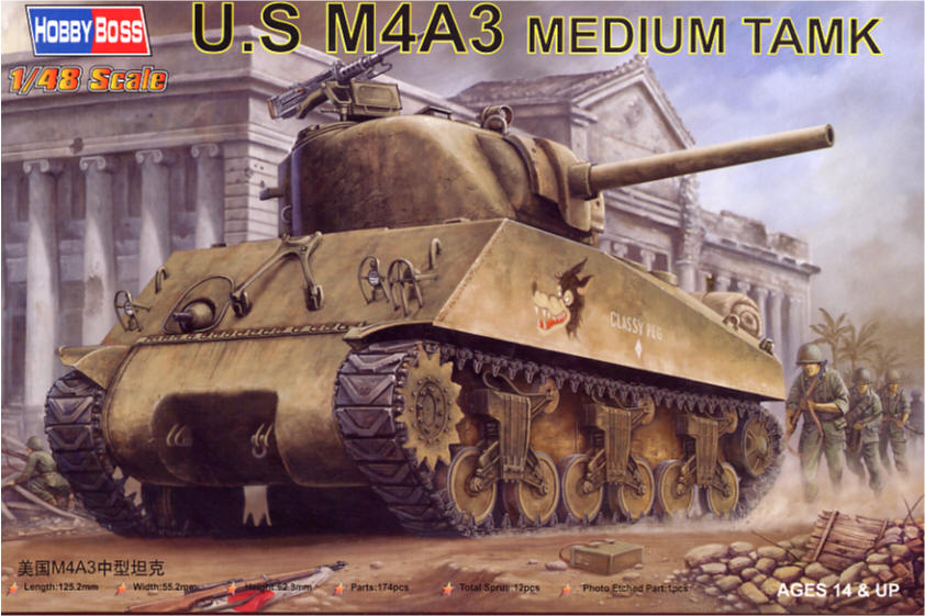 Hobby Boss 1/48 M4A3 Sherman # 84803