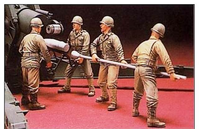 Hobbyfan 1/35 LONG TOM GUN CREW # 524