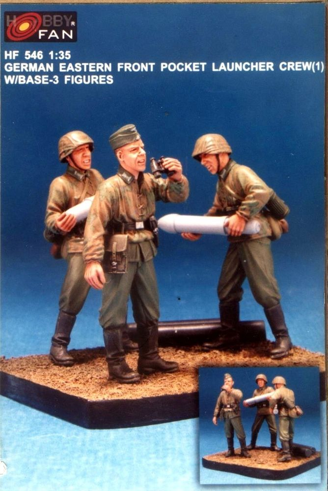 Hobbyfan 1/35 GER.EASTERN FRONT ROCKET LAUNCER # 546