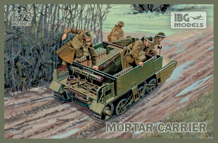 IBG model 1/72 Mortar Carrier # 72025