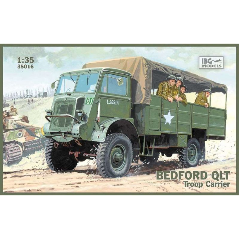 IBG 1/35 Bedford QLT Troop Carrier # 35016