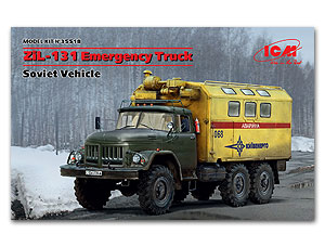 ICM 1/35 Emergency Truck, Soviet Vehicle # 35518