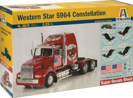 Italeri 1/24 Western Star 5964 Constellation # 3874