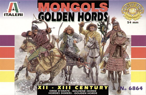 Italeri 1/32 Mongols - Golden Hords # 6864
