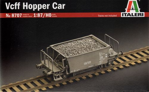 Italeri 1/87 Vcff Hopper Car # 8707