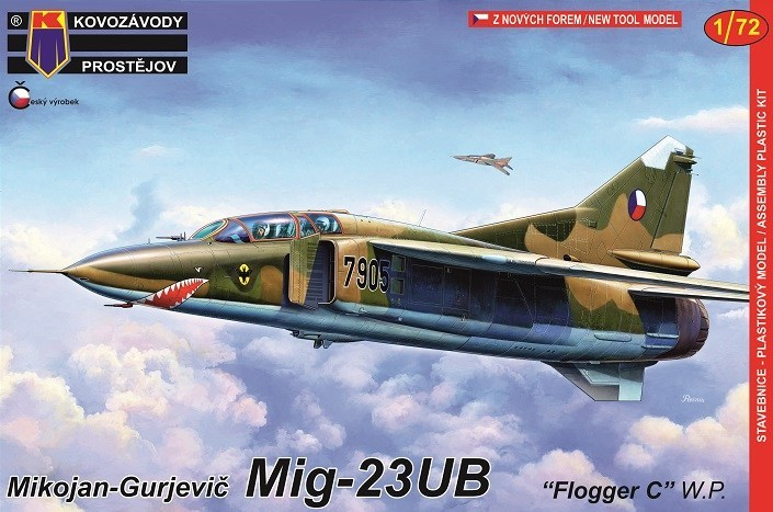 "KP 1\72 MiG-23UB ""Flogger C"" Warsaw Pact"" # 0140"