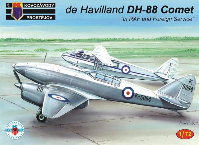 "KP 1/72 DH-88 Comet ""in RAF and Foreign Service"" # 0101"