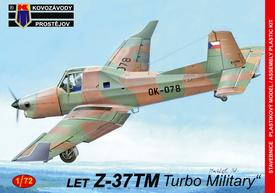 "KP 1\72 Let Z-37TM ""Turbo Mlitary"" # 72146"