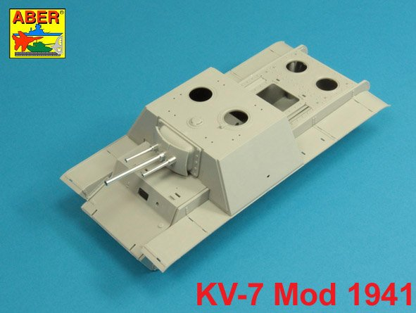 Aber 1/35 Armament for Soviet KV-7 -76mm x 2; 45 x 2 # 35L210