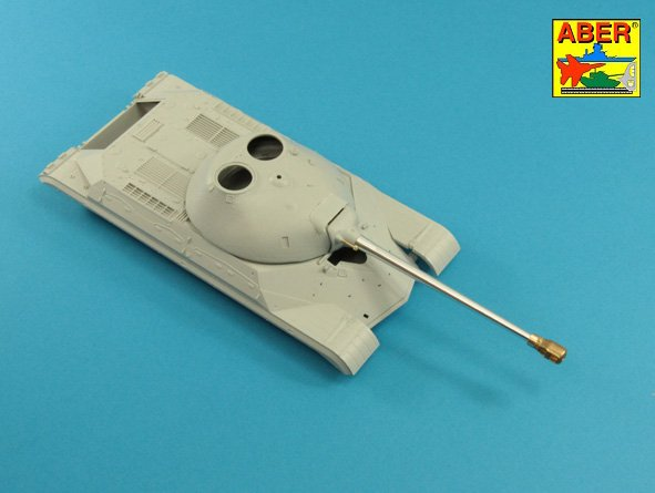 Aber 1/35 Armament for T10 Heavy Tank 1x122 mm D-25TA, 1x12,7 mm Coaxial DShK # 35L236