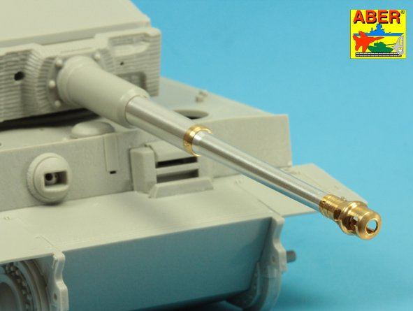 Aber 1/35   KwK36/L56 88mm barrel for German lateTiger I # 35L238