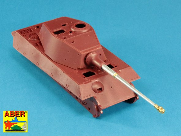 Aber 1/35 Barrel for German 8,8cm Kw.K 43 (L/71) gun used on Tiger B Henschel-Turm # 35L243