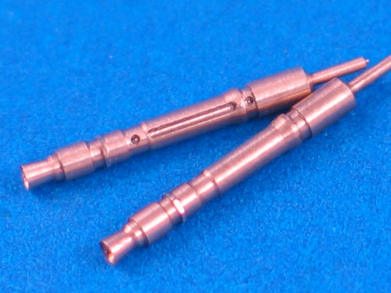 Aber 1/35 Set of 2 barrels for German Tank MG 34 machine guns # 35L63