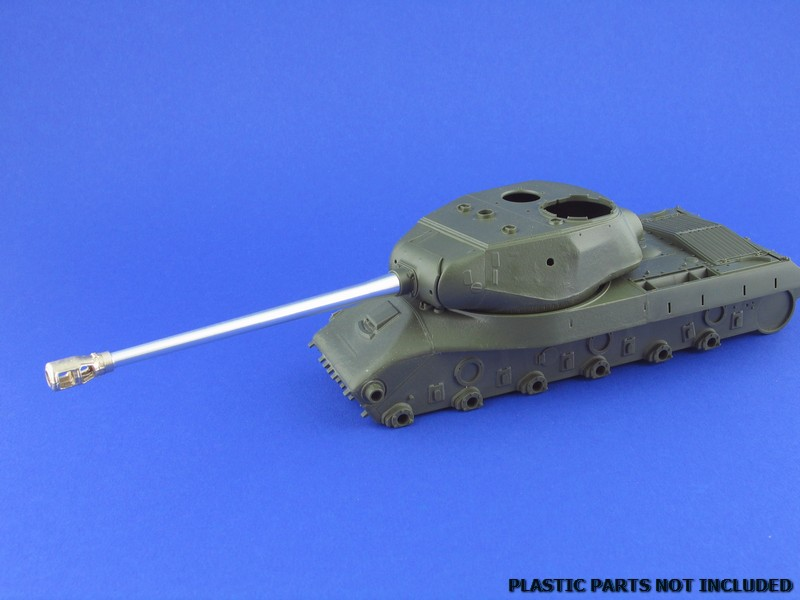 Aber 1/35 Russian 122mm D-25T tank barrel for IS-2 # 35L69