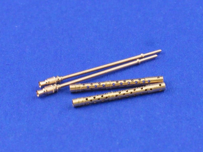 Aber 1/35 Set of 2 barrels for German machine guns MG34 # 35L70