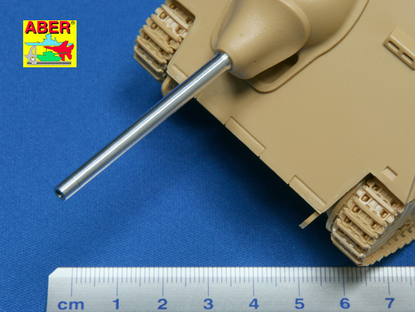Aber 1/35 German 75 mm Pak39 L/48 barrel for Hetzer or E10 # 35L77