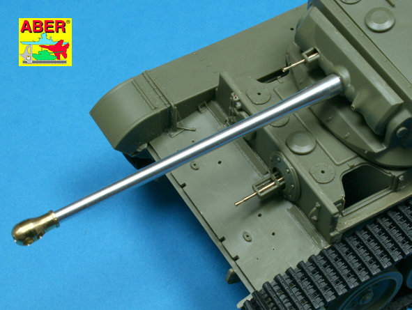 Aber 1/35 Tank gun barrel for british A34 Comet # 35L94
