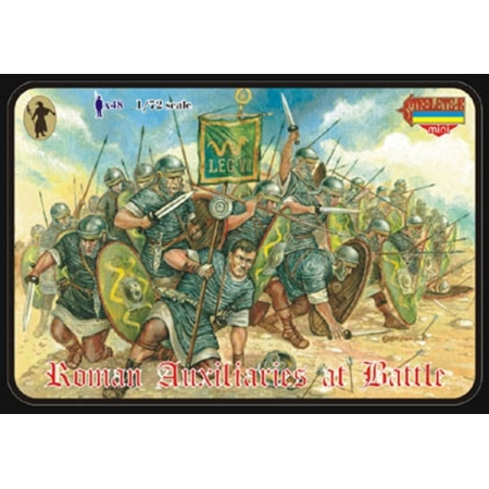 Strelets 1/72 Roman Auxiliaries at Battle # 008
