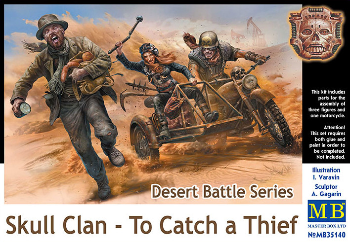 Master Box 1/35 Desert Battle Series, Skull Clan - To Catch a Thief # 35140