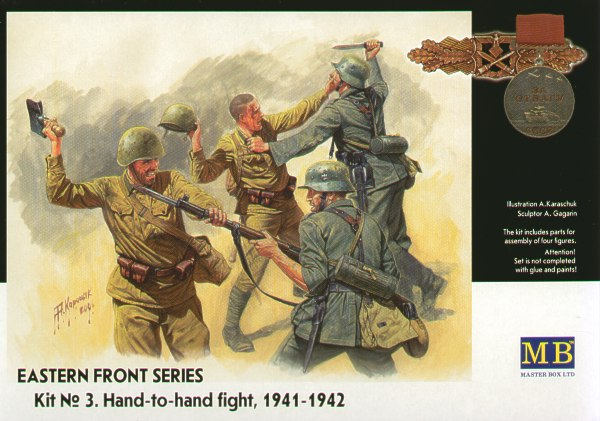 Master Box 1/35 Hand to Hand Combat Eastern Front # 3524