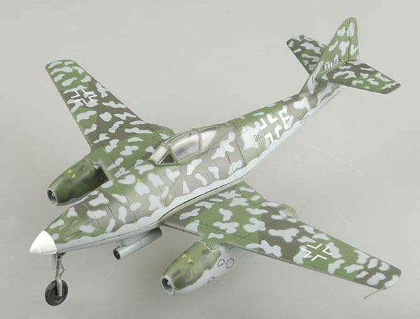 Easy Model 1/72 Me 262A-2a B3+BH of 1./KG(J)54 # 36408