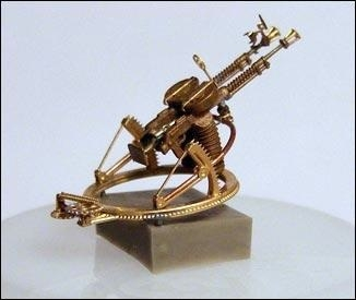 Mini World 1/72 Degtyaryov DA-2 coupled machine-gun on TUR-5 ring mount # 72001