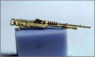 Mini World 1/72 Hotchkiss Mle 1914 machine-gun # 72012