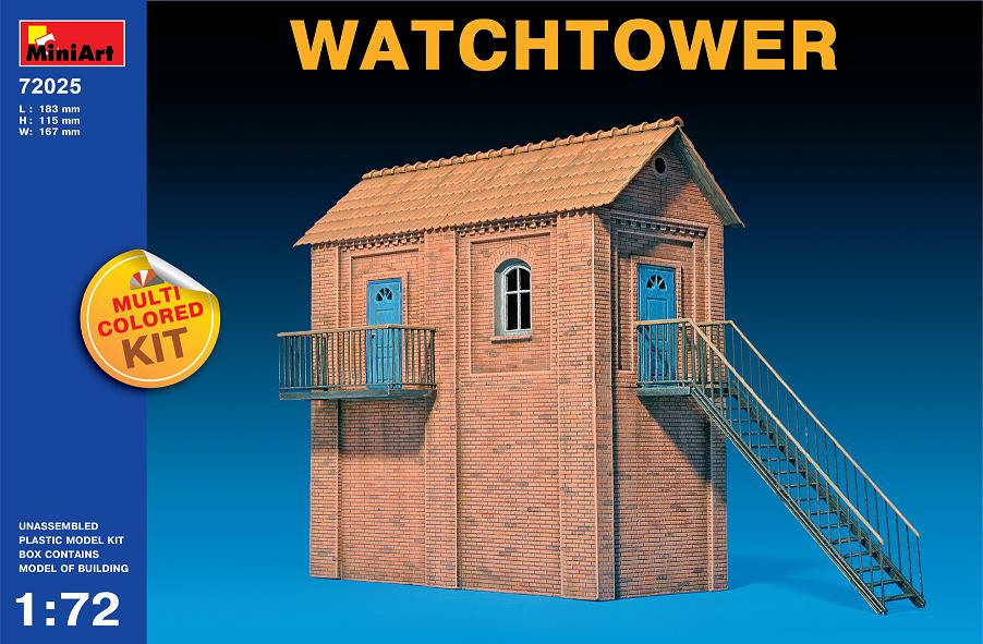 MiniArt 1/72 Watchtower # 72025