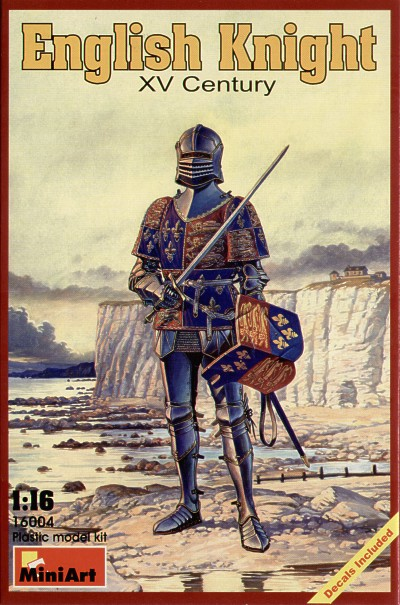 MiniArt 1/16 English Knight XV Century # 16004