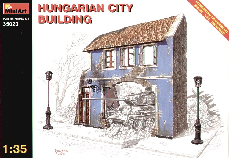 MiniArt 1/35 Ruined Village House # 35520