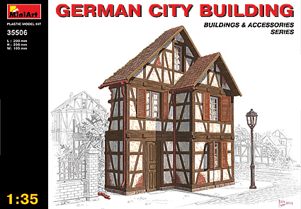 MiniArt 1/35 German City Building # 35506
