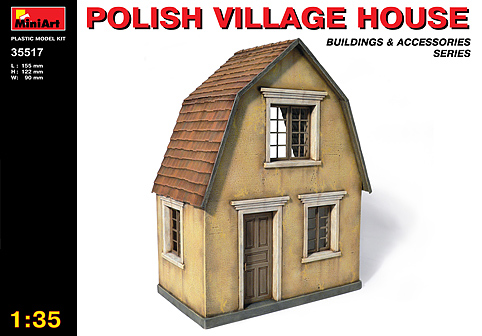 MiniArt 1/35 Polish Village House # 35517