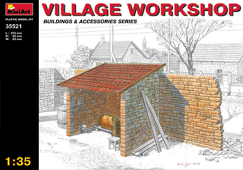 Miniart 1/35 Village Workshop # 35521