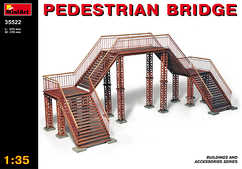 MiniArt 1/35 Pedestrian Bridge # 35522