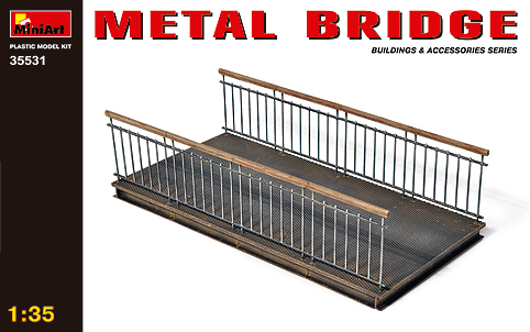 MiniArt 1/35 Metal Bridge # 35531