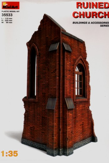 MiniArt 1/35 Ruined Church # 35533