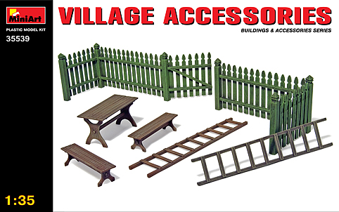 MiniArt 1/35 Village Accessories # 35539