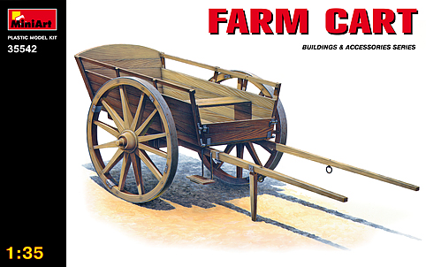 MiniArt 1/35 Farm Cart # 35542