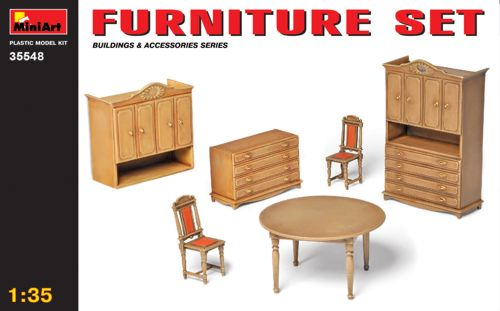 MiniArt 1/35 Furniture Set # 35548