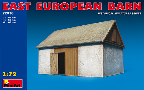 MiniArt 1/72 East European Barn # 72018