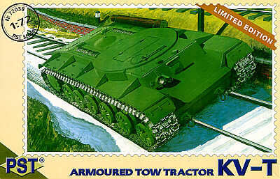 PST 1/72  Russian KV-T Armoured Tow Tractor # 72038