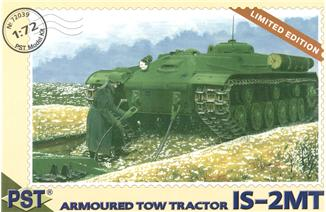 PST 1/72 ИС-2МТ / IS-2MT Soviet armored tow tractor # 72039